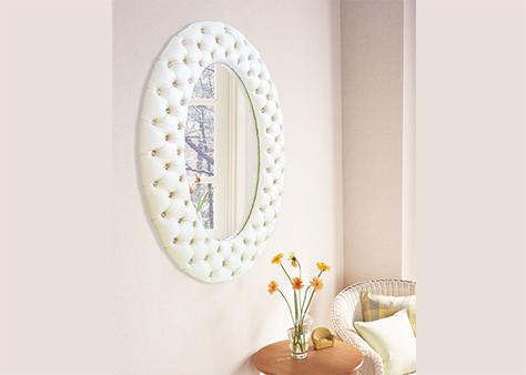 Зеркало овальное в каретной стяжке Чебоксары цена