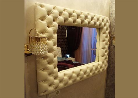Мягкое настенное зеркало в Чебоксарах