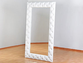 Высокое зеркало с экокожей Чебоксары мягкая мебель