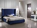 Фотография №12 интерьер спальни кровать с каретной стяжкой