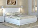 Фотография №17 интерьер спальни кровать с каретной стяжкой