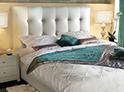 Фотография №22 интерьер спальни кровать с каретной стяжкой
