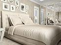Фотография №24 интерьер спальни кровать с каретной стяжкой