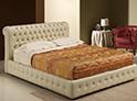 Фотография №25 интерьер спальни кровать с каретной стяжкой