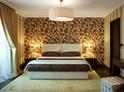 Фотография №26 интерьер спальни кровать с каретной стяжкой