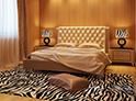 Фотография №27 интерьер спальни кровать с каретной стяжкой