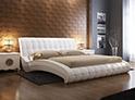 Фотография №3 интерьер спальни кровать с каретной стяжкой
