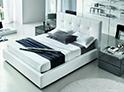 Фотография №30 интерьер спальни кровать с каретной стяжкой