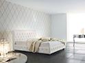 Фотография №31 интерьер спальни кровать с каретной стяжкой