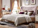 Фотография №34 интерьер спальни кровать с каретной стяжкой