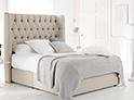 Фотография №36 интерьер спальни кровать с каретной стяжкой