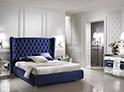 Фотография №37 интерьер спальни кровать с каретной стяжкой
