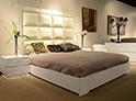 Фотография №39 интерьер спальни кровать с каретной стяжкой