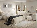 Фотография №47 интерьер спальни кровать с каретной стяжкой