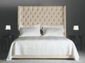 Фотография №49 интерьер спальни кровать с каретной стяжкой