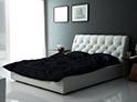 Фотография №53 интерьер спальни кровать с каретной стяжкой