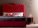 Фотография №54 интерьер спальни кровать с каретной стяжкой