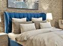Фотография №55 интерьер спальни кровать с каретной стяжкой