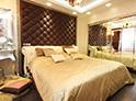 Фотография №61 интерьер спальни кровать с каретной стяжкой