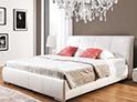 Фотография №8 интерьер спальни кровать с каретной стяжкой