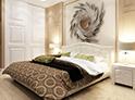 Фотография №9 интерьер спальни кровать с каретной стяжкой